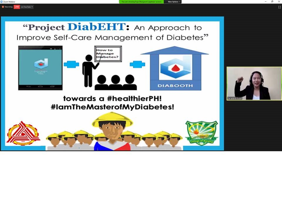 Diabetes management project wins the 3-Minute Pitch to Policymakers Competition image