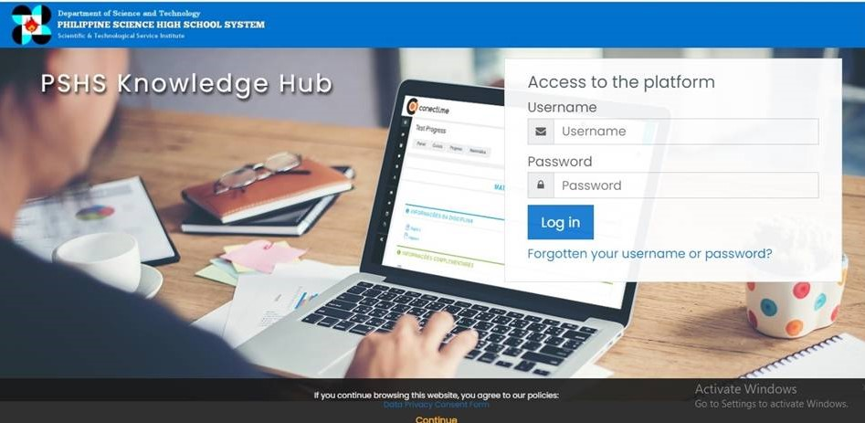 Pisay opens classes using KHub remote learning system image