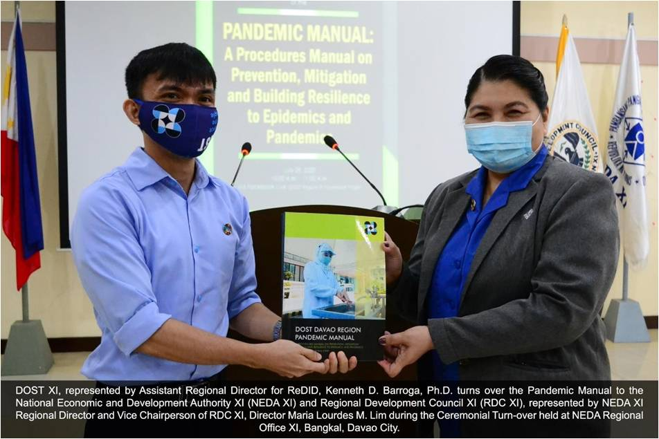 DOST XI launches Pandemic Manual image